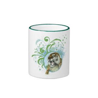 Tiger Art Coffee Mugs