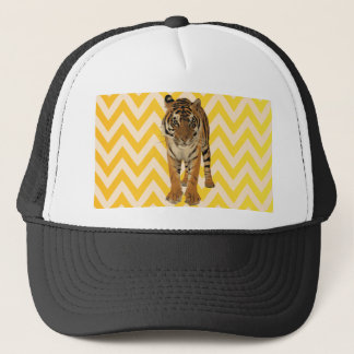 Tiger Art Gift Design Trucker Hat