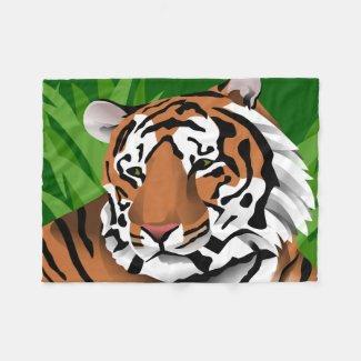 Tiger blankets