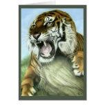 Tiger Art Greeting Cards