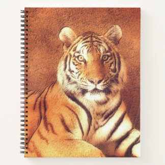 Tiger Art Portrait Notebook
