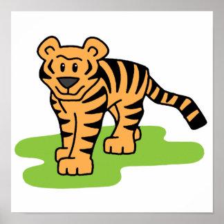 Tiger Art Poster