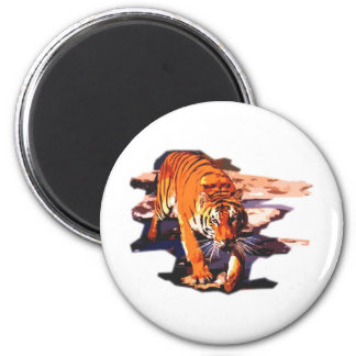 Tiger Art - Wild Cats Magnet