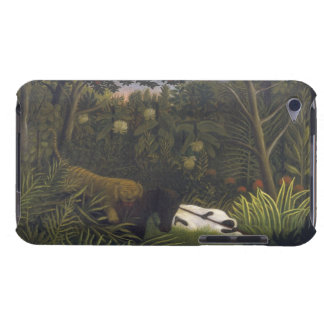 Tiger Attacking a Horse and a Sleeping Black Man ( iPod Touch Case