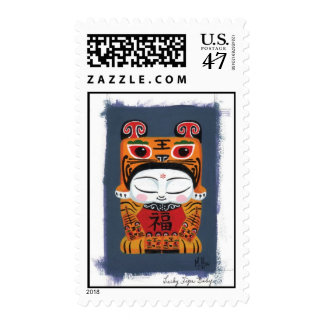 Tiger Baby Postage Stamp