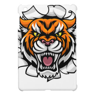 Tiger Background Claws Breakthrough iPad Mini Covers