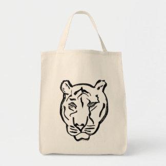 Tiger Grocery Tote Bag