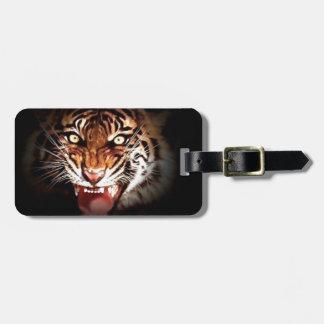 Tiger Bag Tag