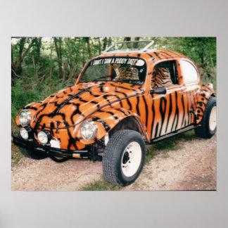 Tiger baja bug poster
