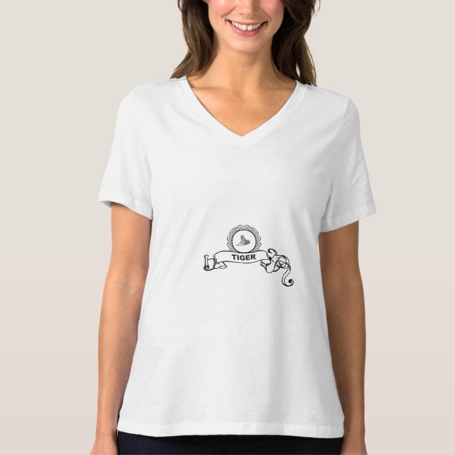 tiger banner art T-Shirt - Best Selling Long-Sleeve Street Fashion Shirt Designs
