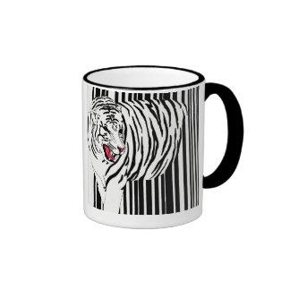 Tiger Bar Code Coffee Mug