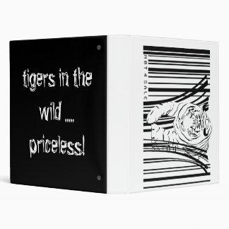 tiger barcode 3 ring binder