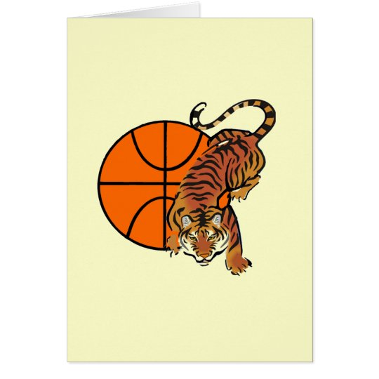 Tiger Basketball T-shirts and Gifts Card