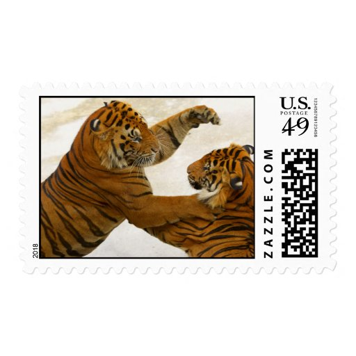 Tiger Battle Postage