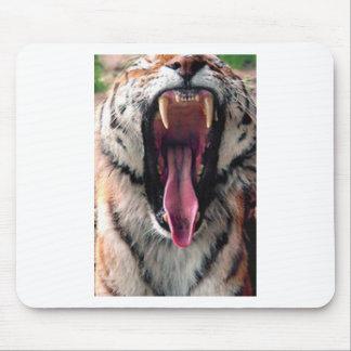 Tiger Bearing Teeth Mouse Pad