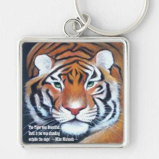 Tiger Beauty Keychain