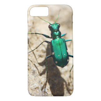 Tiger Beetle Phone Case, Insect Photography iPhone 7 Case