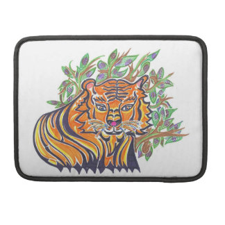TIGER Bengal Tiger in the lush foliage MacBook Pro Sleeve