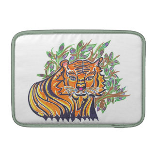 TIGER Bengal Tiger in the lush foliage Sleeve For MacBook Air