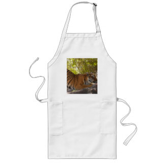 Tiger Bengali 002 Long Apron