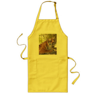 Tiger Bengali 003 Long Apron
