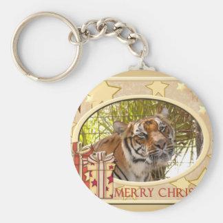 Tiger Bengali-c-148 copy Basic Round Button Keychain