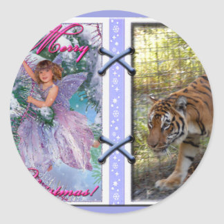 Tiger Bengali-c-45 copy Classic Round Sticker