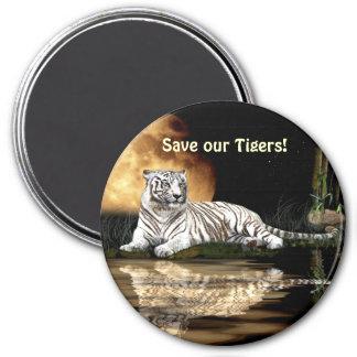 Tiger Big Cat Wildlife Gift Magnet