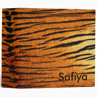 Tiger Binder Personalized