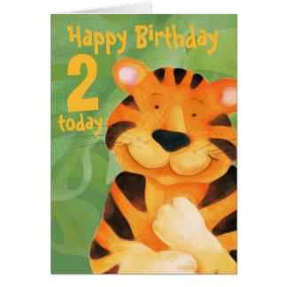 Tiger Birthday Card 2 today