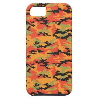 Tiger Blaze Orange Camouflage iPhone SE/5/5s Case
