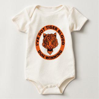 Tiger Blood Baby Bodysuit
