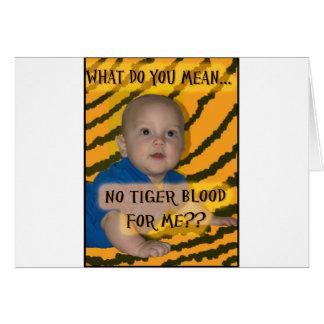 Tiger Blood Card