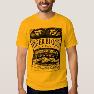 TIGER BLOOD EXTRACT SHIRT