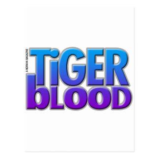 Tiger Blood Magazine Postcard
