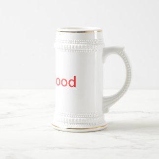 Tiger Blood Mug, a la Charlie Sheen Beer Stein