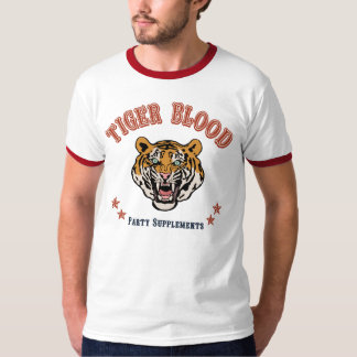 Tiger Blood Party Supplements T-Shirt