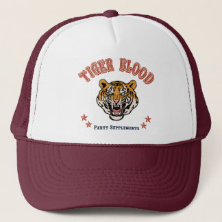 Tiger Blood Party Supplements Trucker Hat