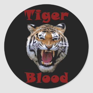 Tiger Blood Stickers