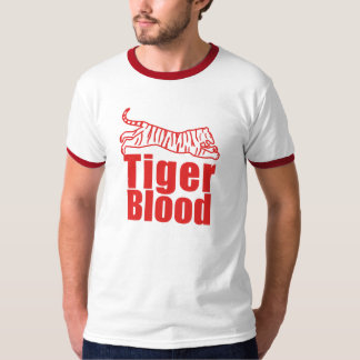 TIGER BLOOD TEAM SHEEN T-Shirt