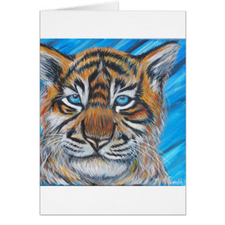 Tiger Blue Card