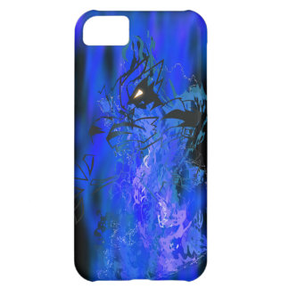 Tiger Blue Flame Cover For iPhone 5C
