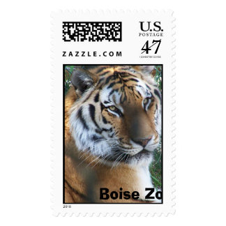 Tiger Boise Zoo, Idaho Postage