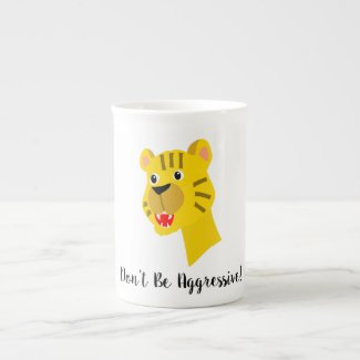Tiger Bone China Mug