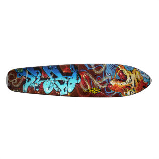 Tiger Breath Blues - Graffiti Sk8 Deck