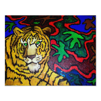 Tiger Bright by Piliero Card