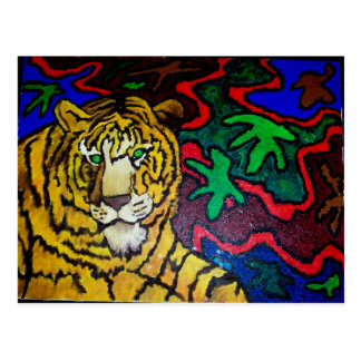 Tiger Bright by Piliero Postcard