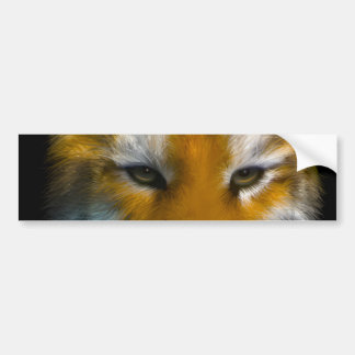 Tiger Bumper Sticker