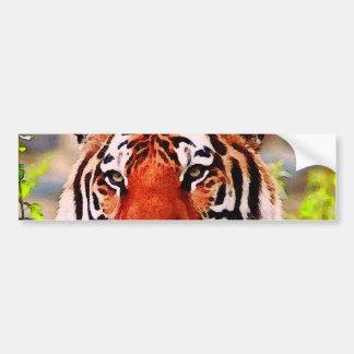 Tiger Bumper Sticker