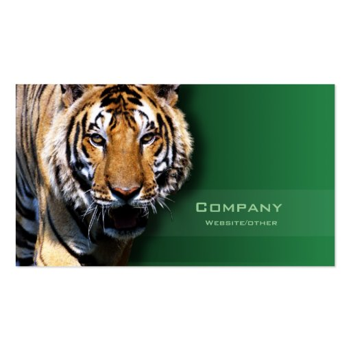 Tiger Double-Sided Standard Business Cards (Pack Of 100)